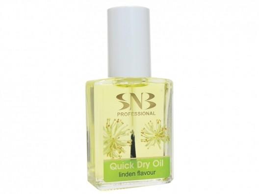 SNB Quick Dry- Ulei pentru cuticula cu uscare rapida cu aroma de tei