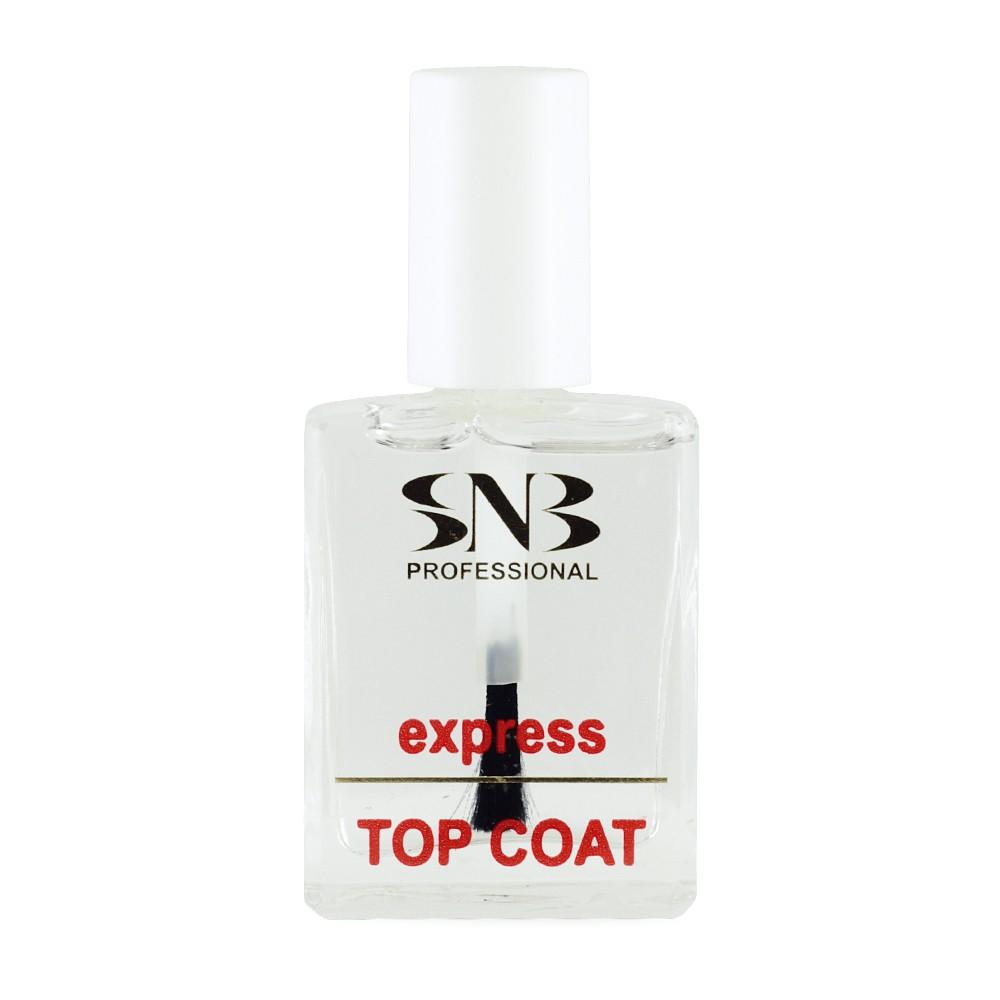 SNB Top Coat Express- Top de sigilare a lacului de unghii