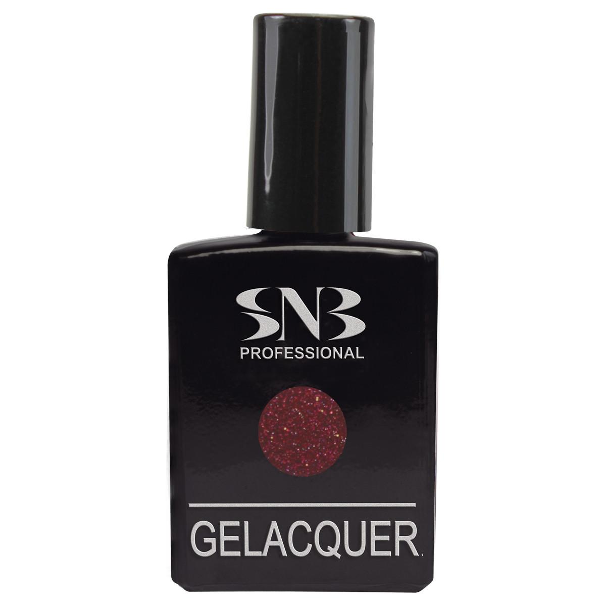 SNB Lac semi-permanent GLI22- Rosu cu Sclipici