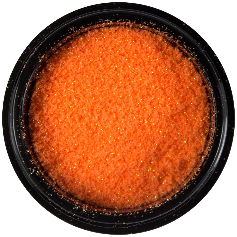 SNB Micro Glitter Aqua Orange