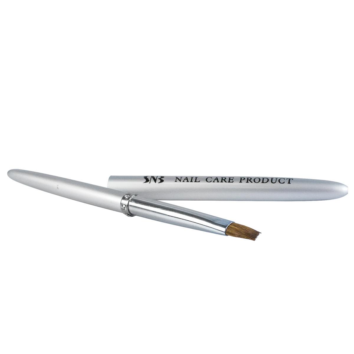 SNB Pensula pentru gel, capac metalic