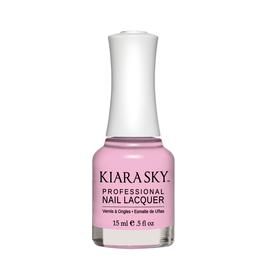 Kiara Sky Lac de unghii Cotton Kisses - Candy Lush- Roz