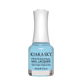 Kiara Sky Lac de unghii Serene Sky- Glitter