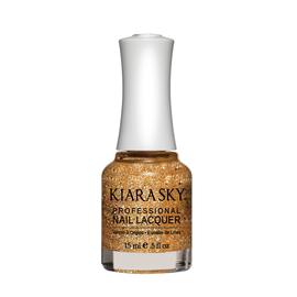 Kiara Sky Lac de unghii Strike Gold- Glitter