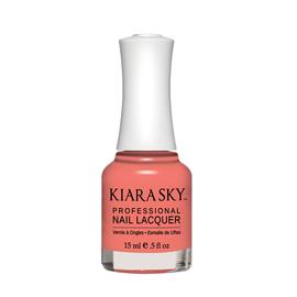 Kiara Sky Lac de unghii Twizzly Tangerine - Corai