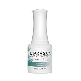 Kiara Sky Lac semi-permanent OMBRE Pouty Posh - Phantom