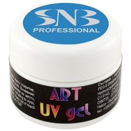 SNB Art UV Gel Colorat Albastru