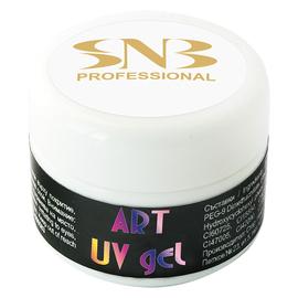 SNB Art UV Gel Colorat White