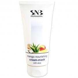 SNB Crema masca nutritiva pentru maini si picioare cu aroma de mango