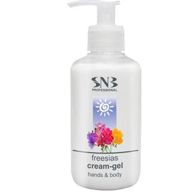 SNB Crema pentru maini si corp cu aroma de frezie