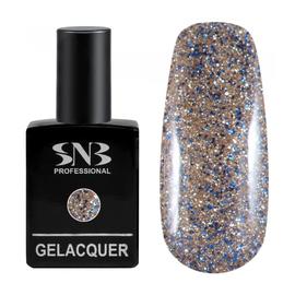 SNB Lac semipermanent 084 Glitter Auriu Colorat