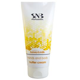 SNB Unt-Crema pentru maini si corp cu Miere si Lapte