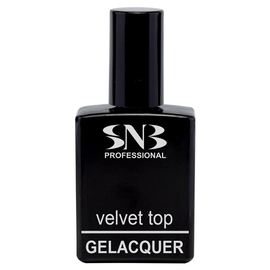 SNB Velvet Top pentru semipermanent