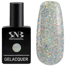 SNB Lac semipermanent 190 Glitter colorat