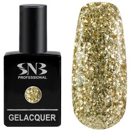SNB Lac semipermanent 191 Glitter Auriu