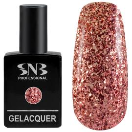 SNB Lac semipermanent 193 Glitter Rosu