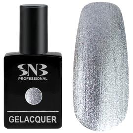 SNB Lac semipermanent Temida 118 Glitter Argintiu